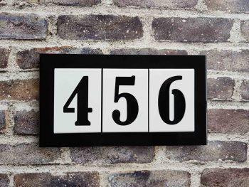 Number2go uniek huisnummer - De nieuwe concurrent van de emaille huisnummers