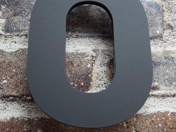 Acryl huisnummer 0