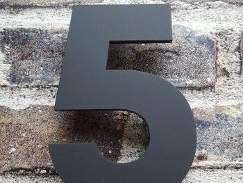 Acryl huisnummer 5