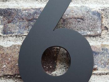 Acryl huisnumemr 6