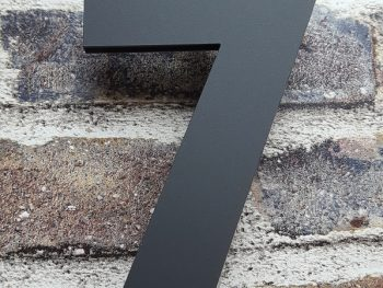 Acryl huisnummer 7