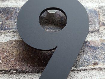 Acryl huisnummer 9